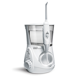The Cordless Advanced Water Flosser for cleaning and flossing dental braces and orthodontic appliances