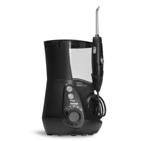 Sideview - WP-662 Black Ultra Professional Water Flosser, Handle, & Tip