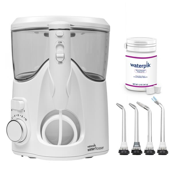 Water Flosser & Tip Accessories - WF-06 White Whitening Water Flosser