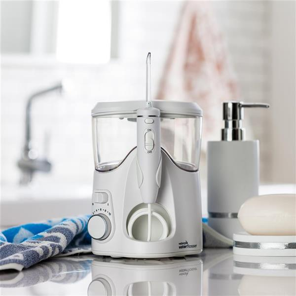 White Whitening Water Flosser WF-06 In Bathroom